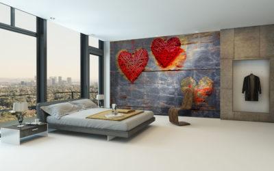 Saint-Valentin : une belle déco pour un nid d'amour ?