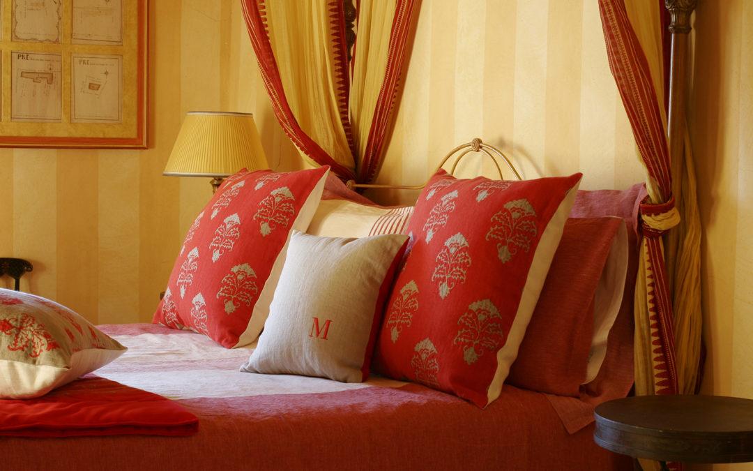 Le rouge, couleur de la passion italienne par C&C Milano