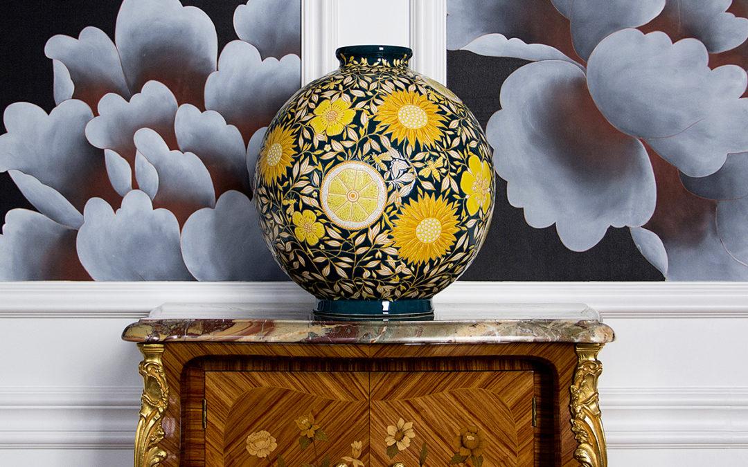 Découvrez 2 collections aux couleurs du printemps par la Manufacture des EMAUX DE LONGWY 1798