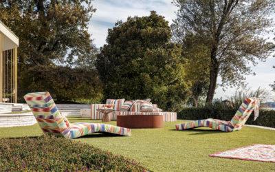 Missoni Home : Collection Garden Light, inspiré par l'air, l'un des quatre éléments