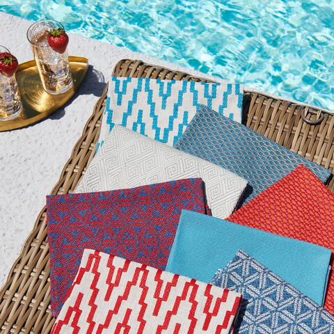 Fabricut : la nouvelle collection Pool House de Stroheim